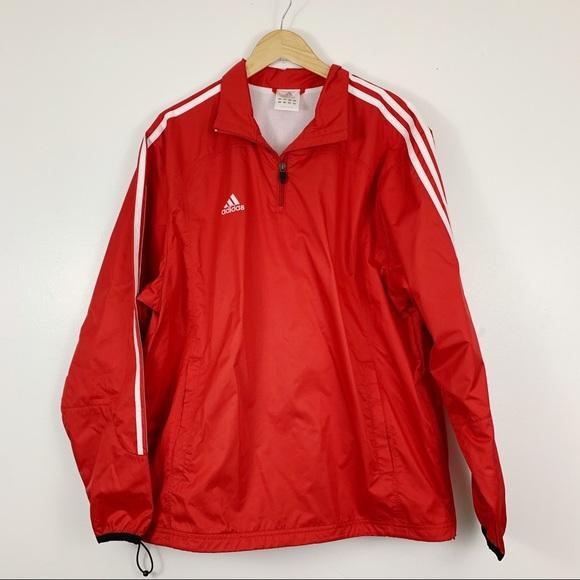 Vintage Adidas Men's Windbreaker Jacket